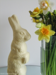 Swiss White Chocolate Easter Bunny